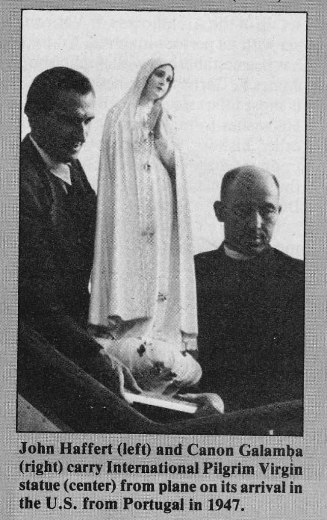 Arrival of the Pilgrim Statue