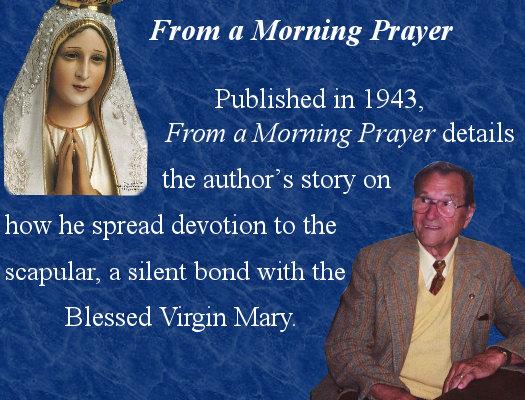 From A Morning Prayer