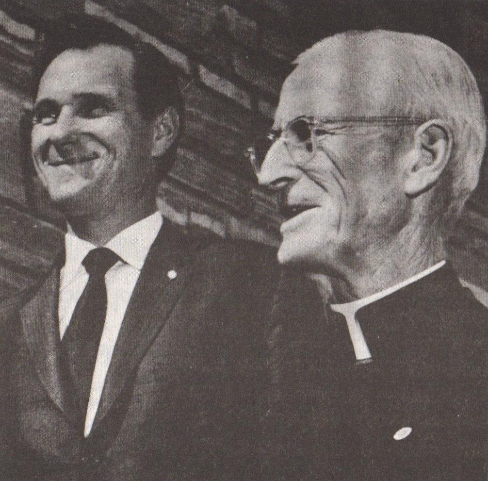 Msgr. Harold V Colgan & Mr. John Haffert
