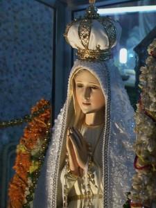 Pilgrim Virgin Statue in Malaya