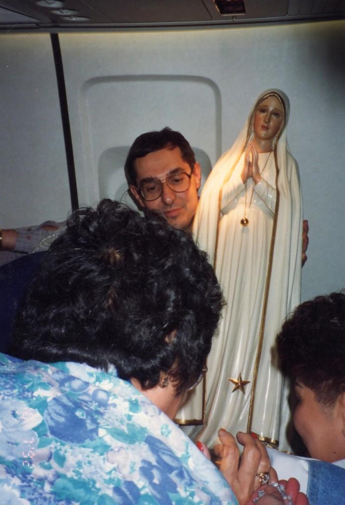 The Pilgrim Virgin Statue